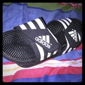 Mens Adidas slides size 13